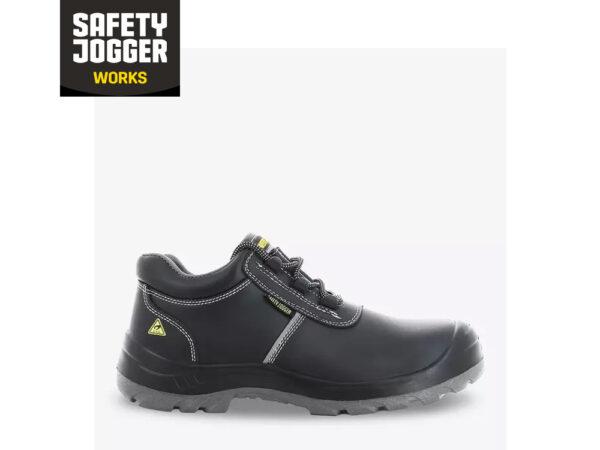 heavy black boot